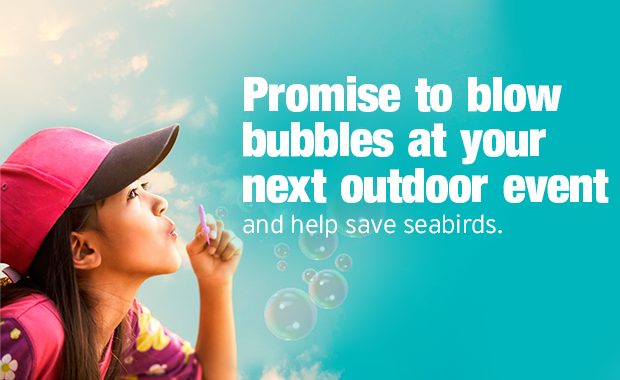 promotion to use bubbles at outdoor events